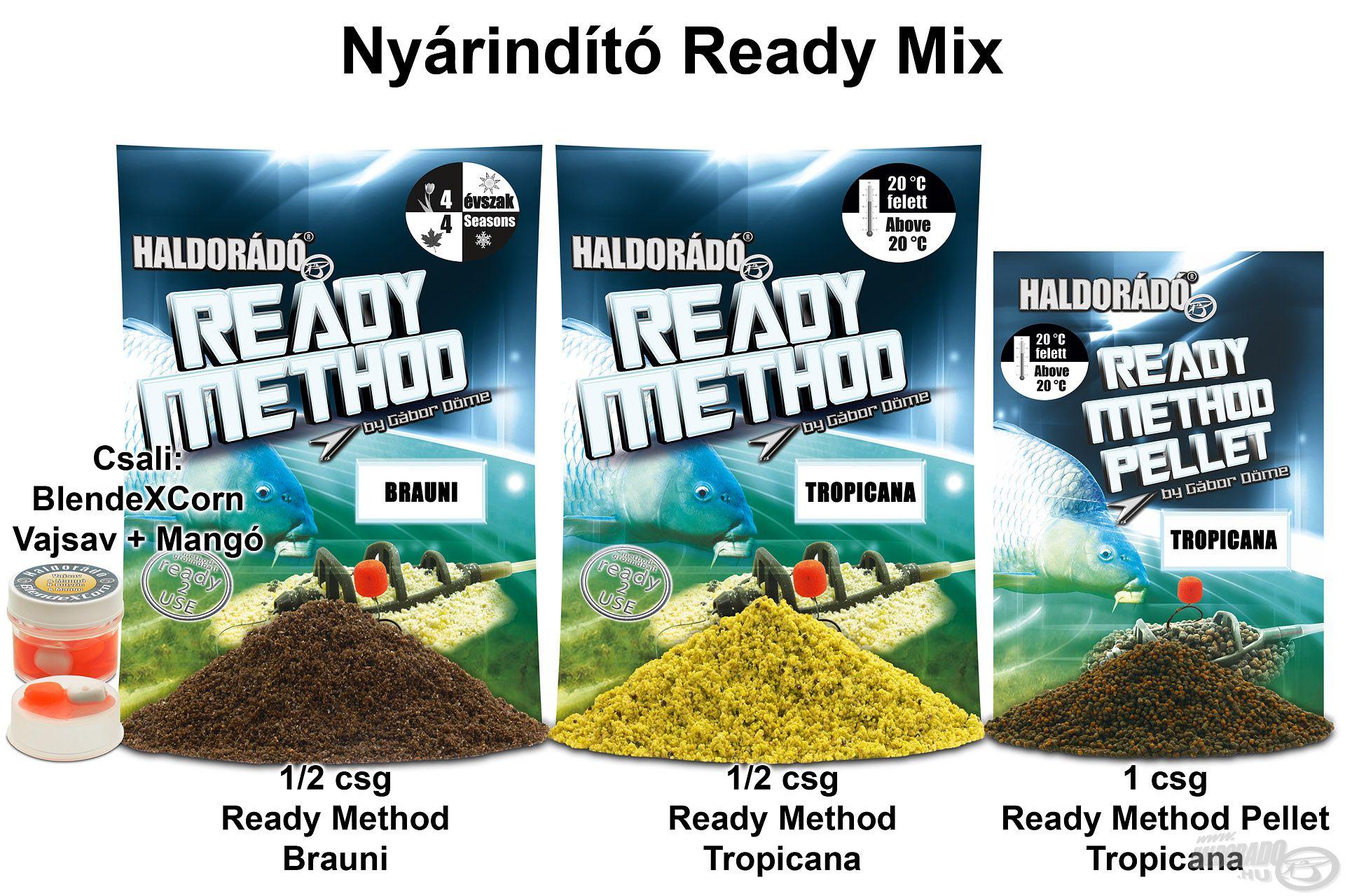 Nyárindító Ready Mix