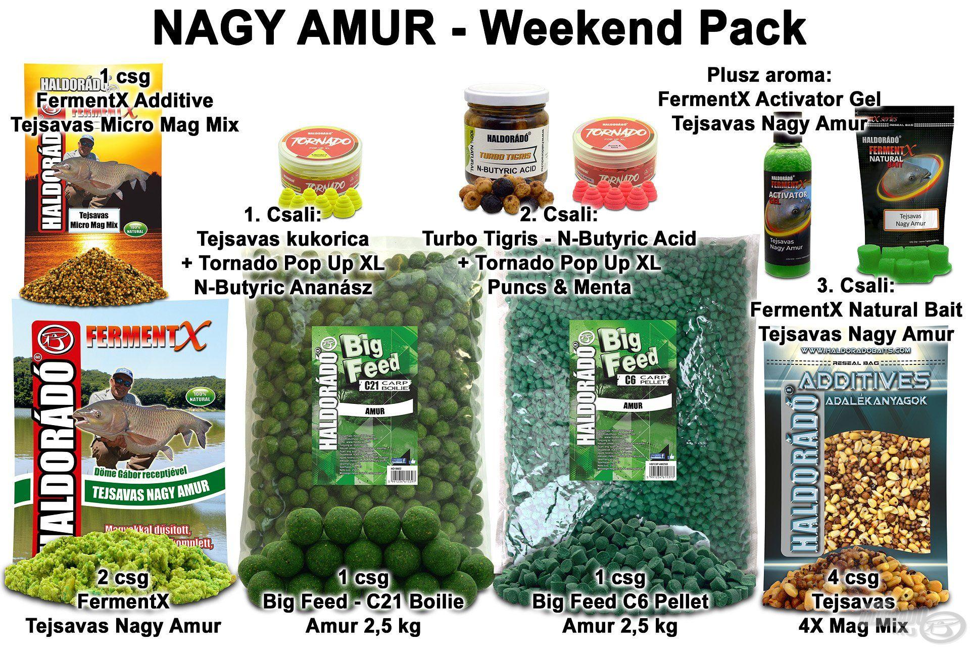 NAGY AMUR – Weekend Pack
