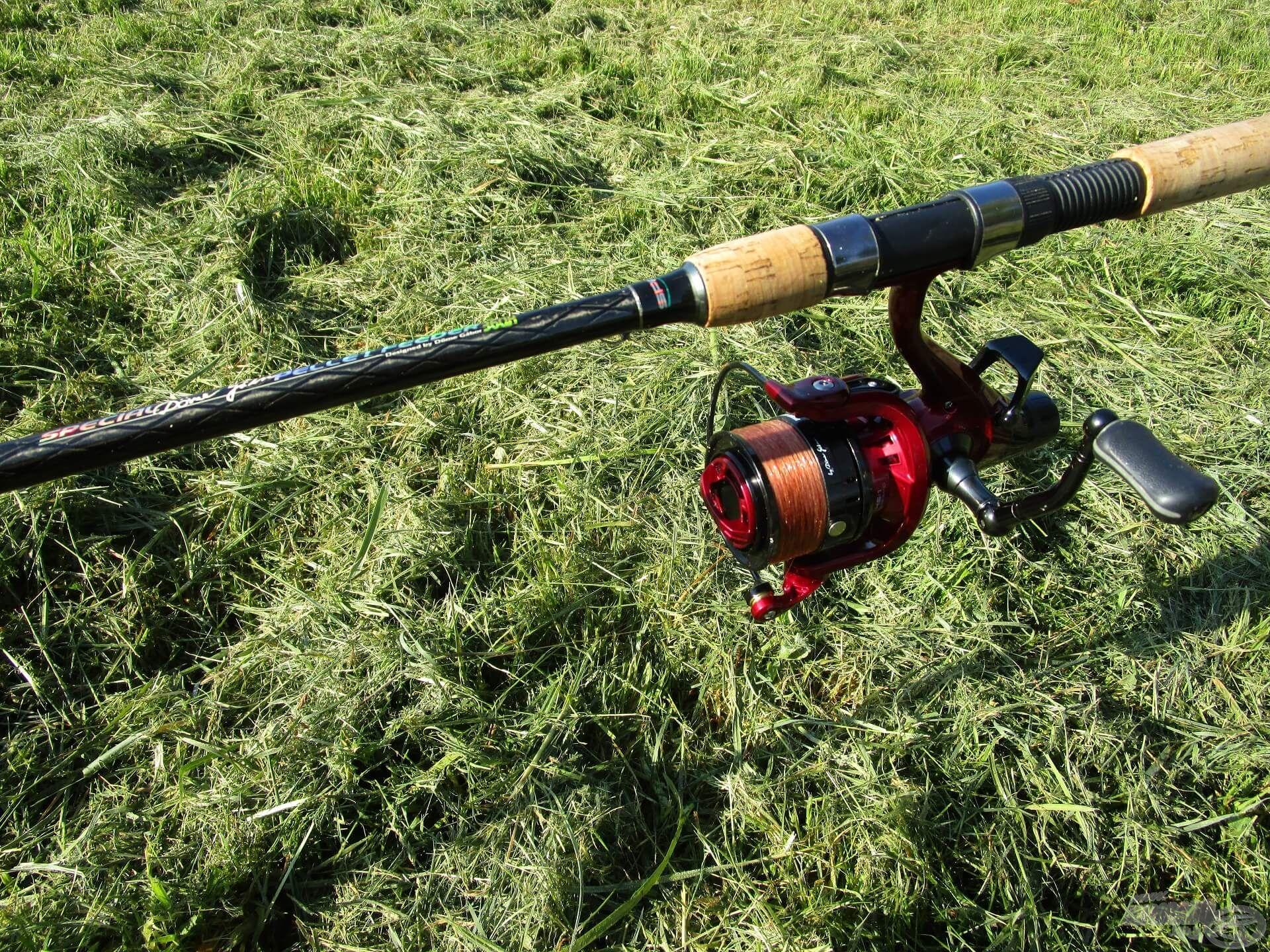 … és egy Spro Special Pellet Feeder bot By Döme Master Carp LCS Pro 5000 orsóval