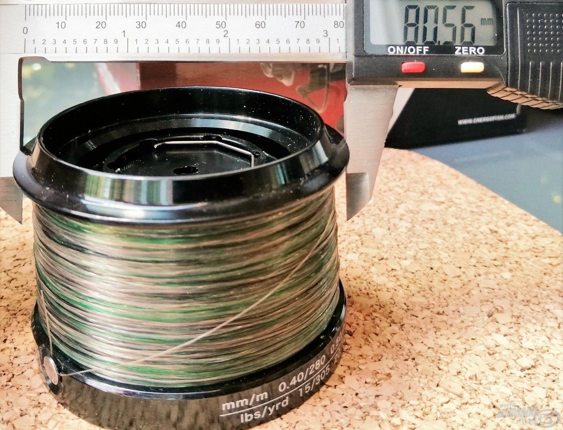 Tekintélyt parancsoló a 80 millimétert meghaladó dobátmérő