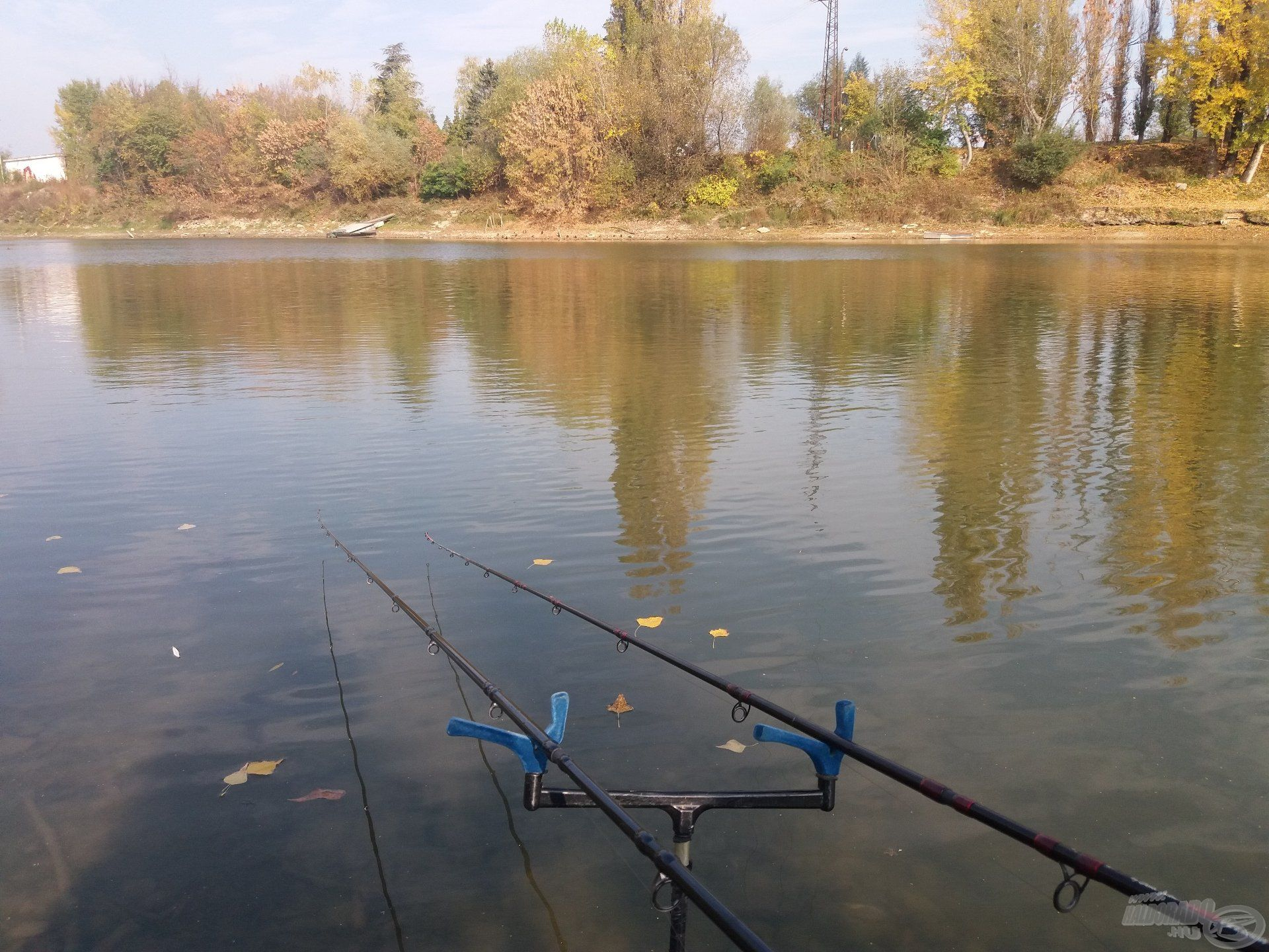Az őszi horgászatoknak megvan a varázsa