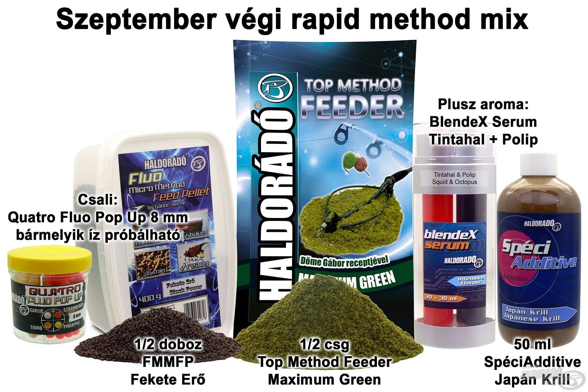Szeptember végi rapid method mix