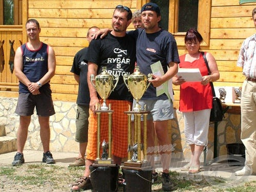 A Palotás Kupa első külföldi győztese: a Szlovákiai Star Baits csapata