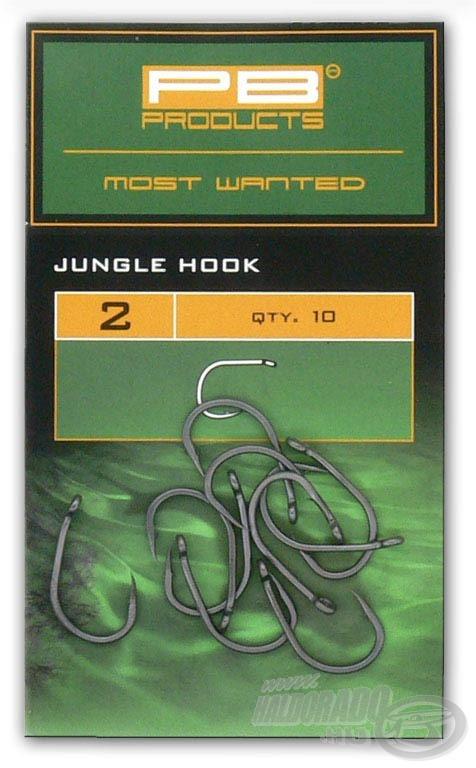 A Jungle Hook klasszikus formával és viszonylag vékony testtel rendelkezik