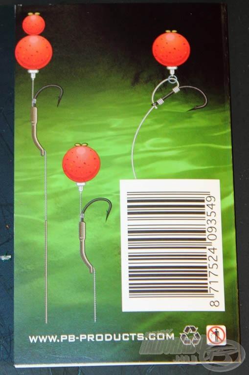 A termék csomagolása is számos variációt mutat be