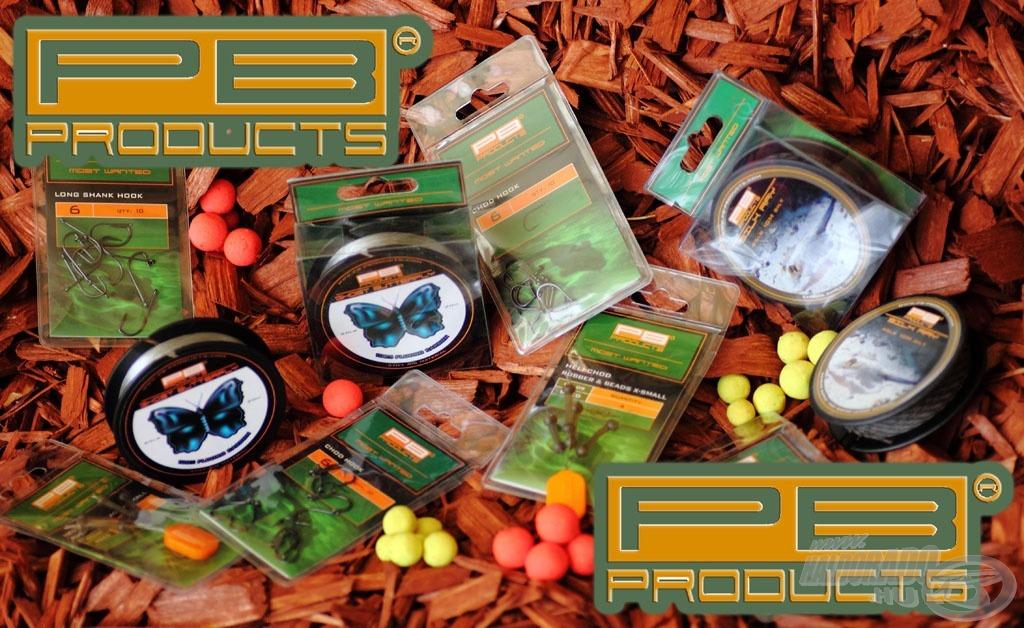 Az eladási adatokat látva a horgászok nagyon megkedvelték a  PB Products termékeit, hiszen prémium minőséget kapnak minden egyes termékkel