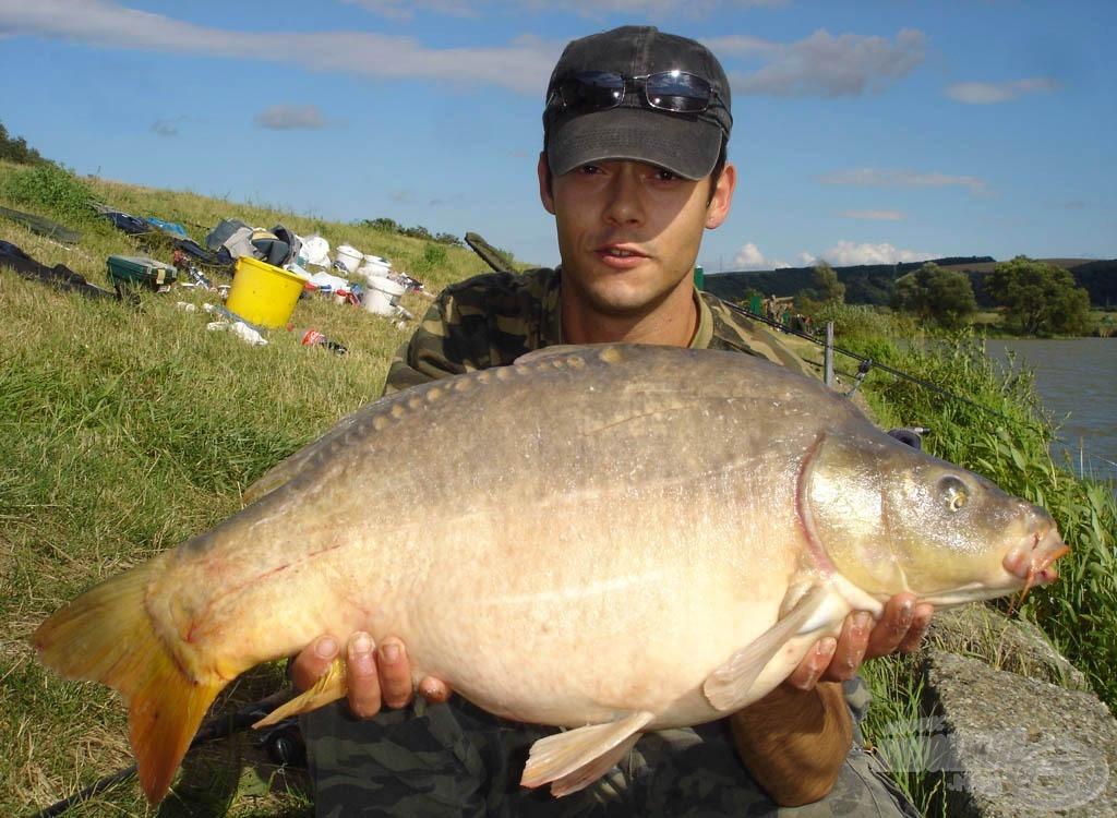 A teszt utolsó hala 9,2 kg-os volt