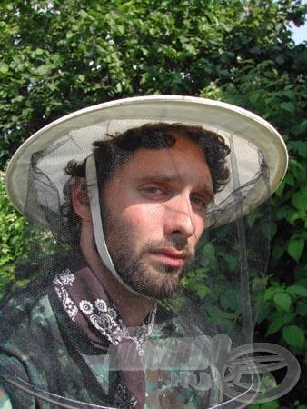 Kicsit muris, de garantáltan szúnyogbiztos!