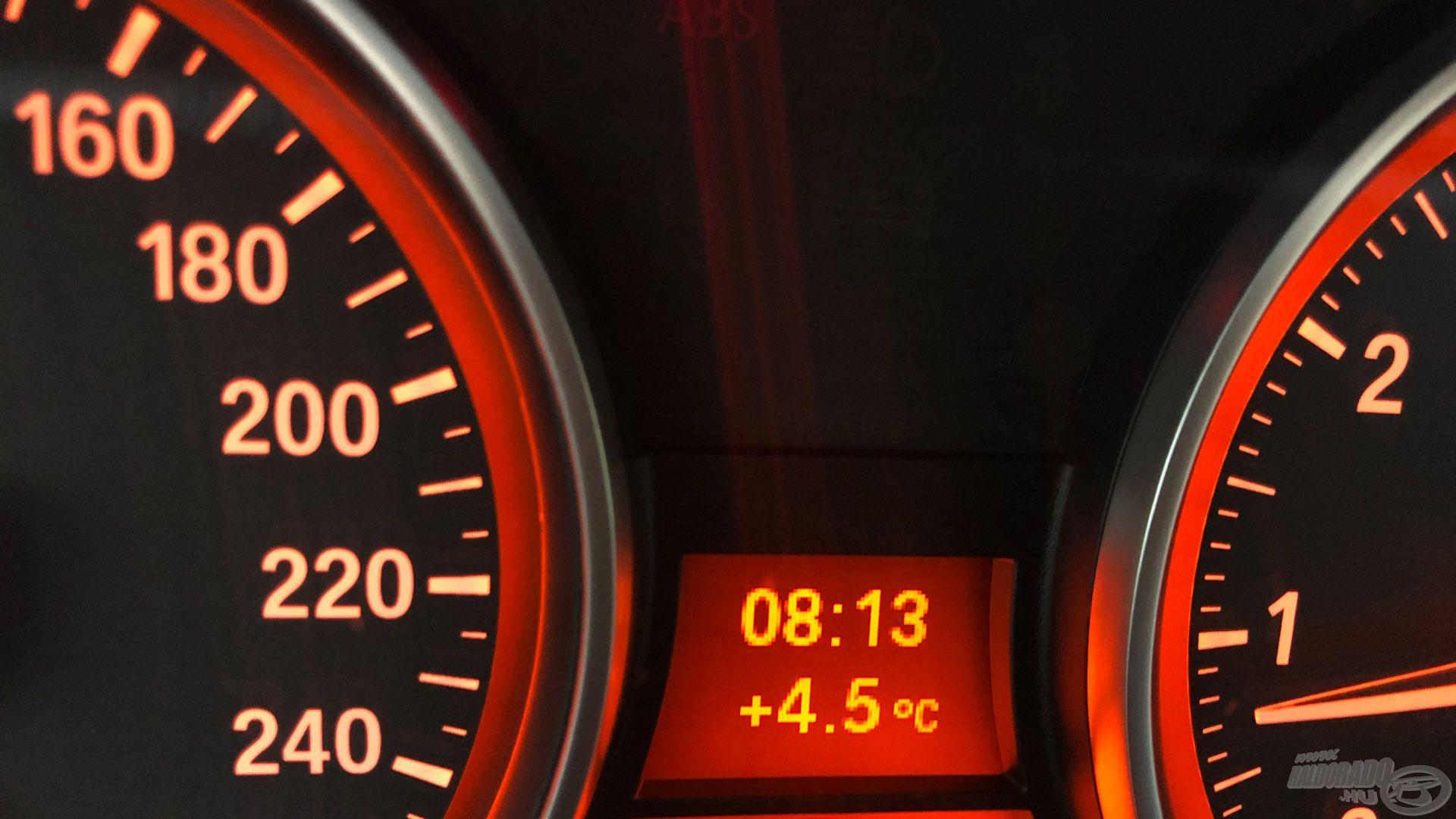 Nem megszokott december végén a +4 Celsius
