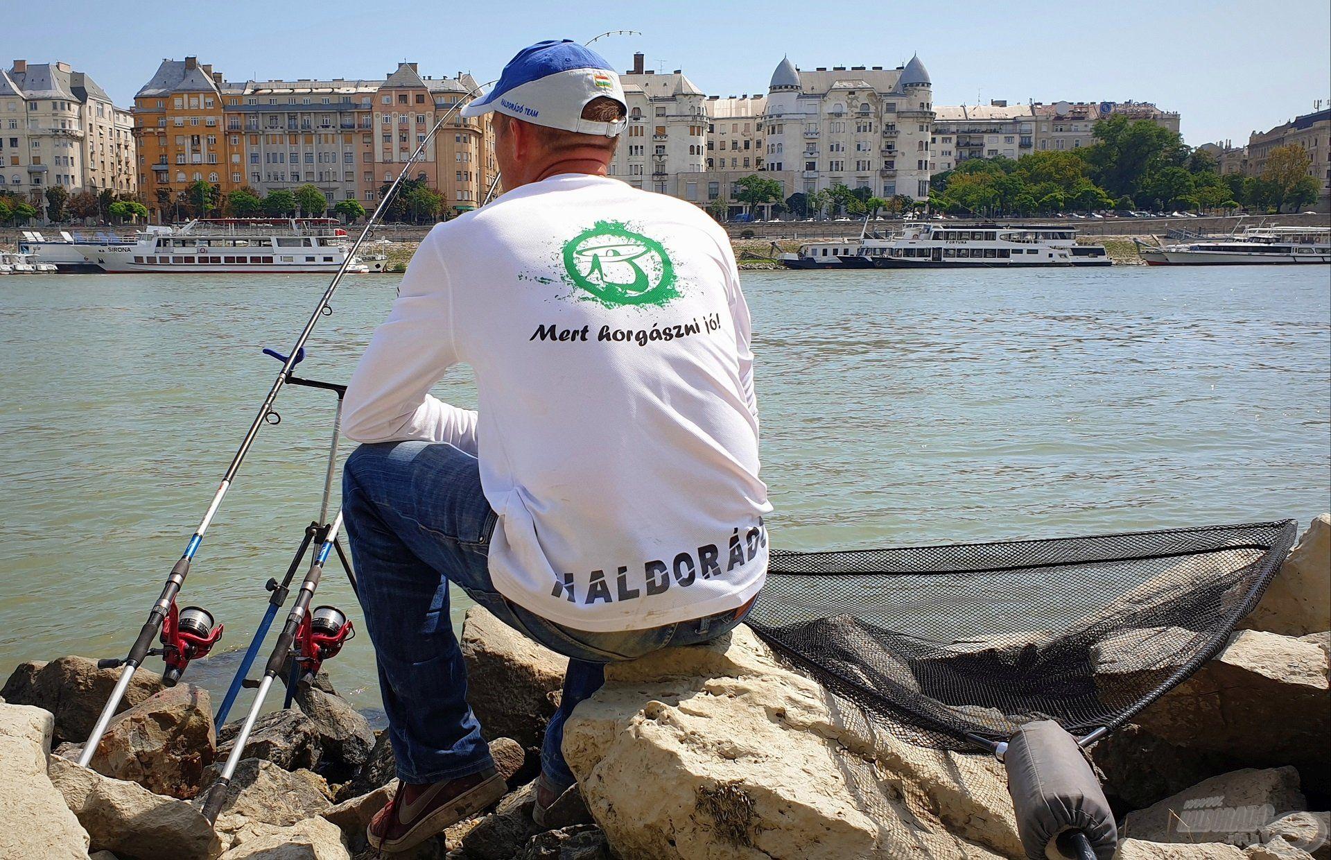 Mert horgászni jó… Kapásra várva, a jól bevált Big River 390 RXH párossal
