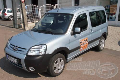 A Peugeot Partner akár nagycsaládos autónak is beillene