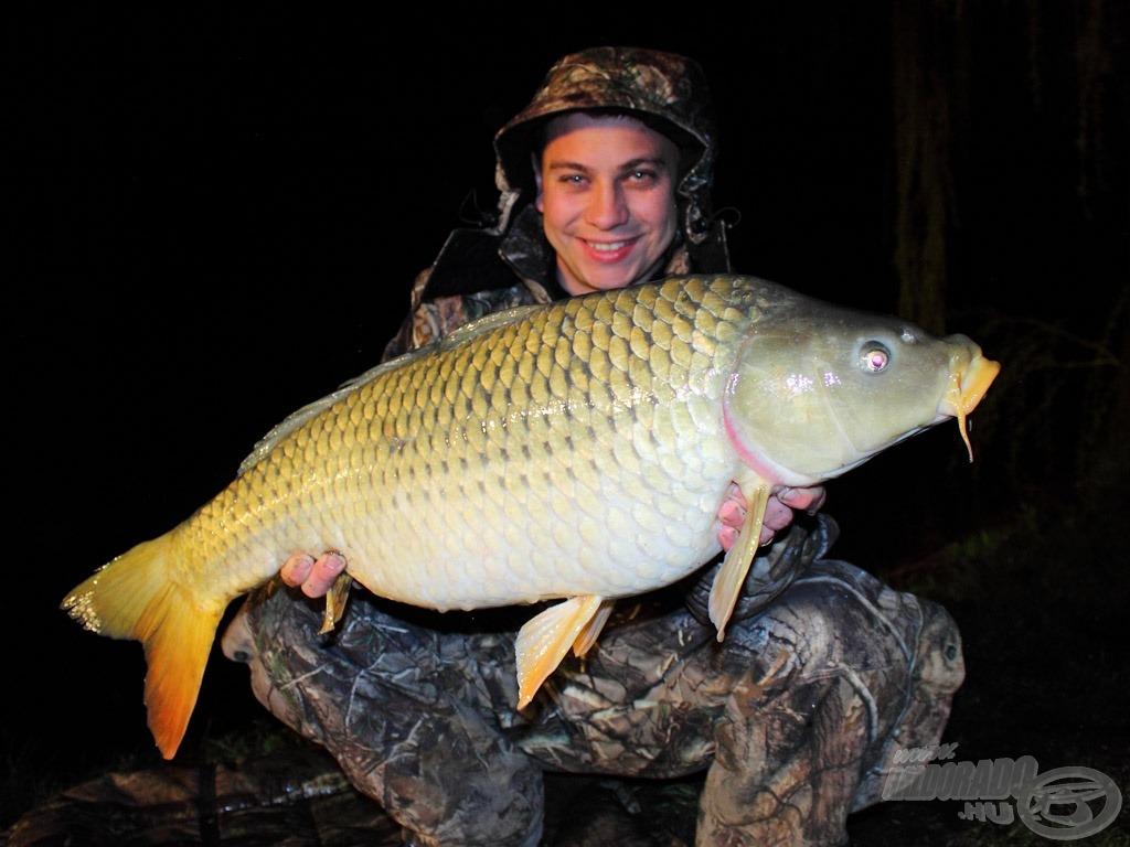 Az éjszaka jóval többet kellett várni az első halra, mint nappal