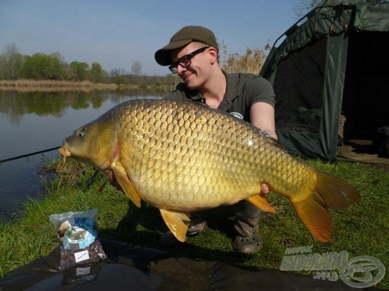 … egy eszméletlenül eredményes túrát zártak. 12 db 10 kg feletti ponty volt a 48 órás horgászat termése!