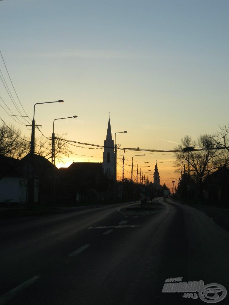 Szeretek reggel kijárni, autóból látni a napfelkeltét