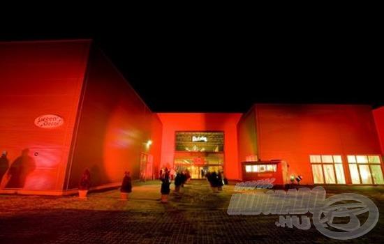 A kiállítás területe nagyon modern és szép, méltó a PontyShow lebonyolítására