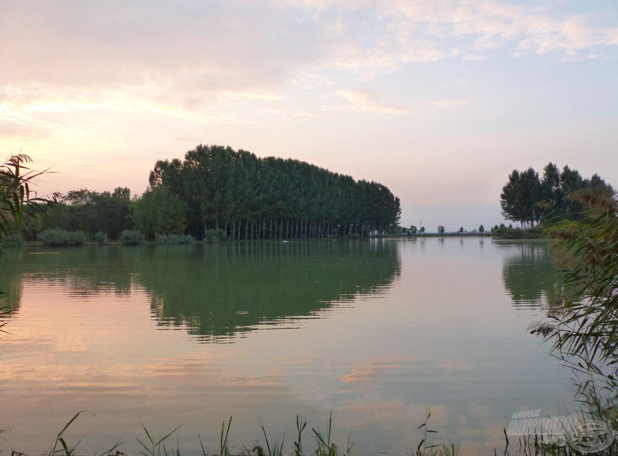 A Nagy-tó volt horgászatom helyszíne…
