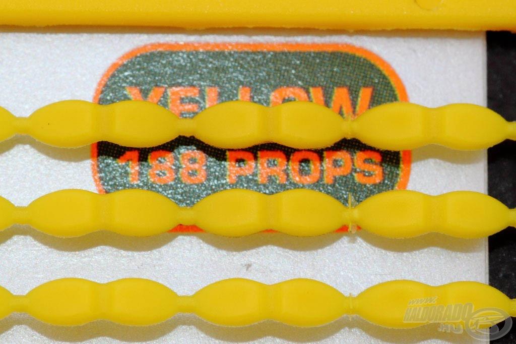 Különleges alakjának köszönhetően széleskörű felhasználási lehetőséggel bír. Egy csomag 188 stoppert tartalmaz. Kétféle (barna és sárga) színben forgalmazzuk