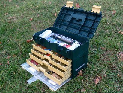 Praktikus tároló dobozok pergető horgászoknak
