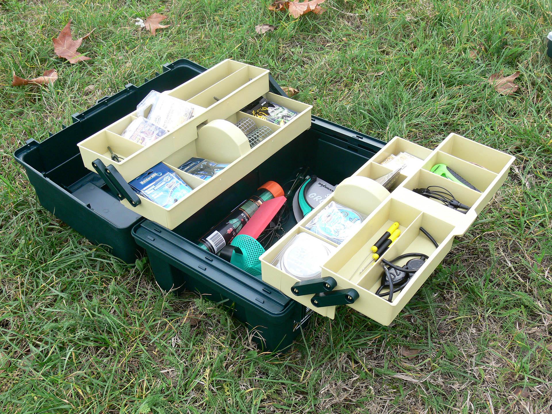 Praktikus tároló dobozok pontyhorgászoknak