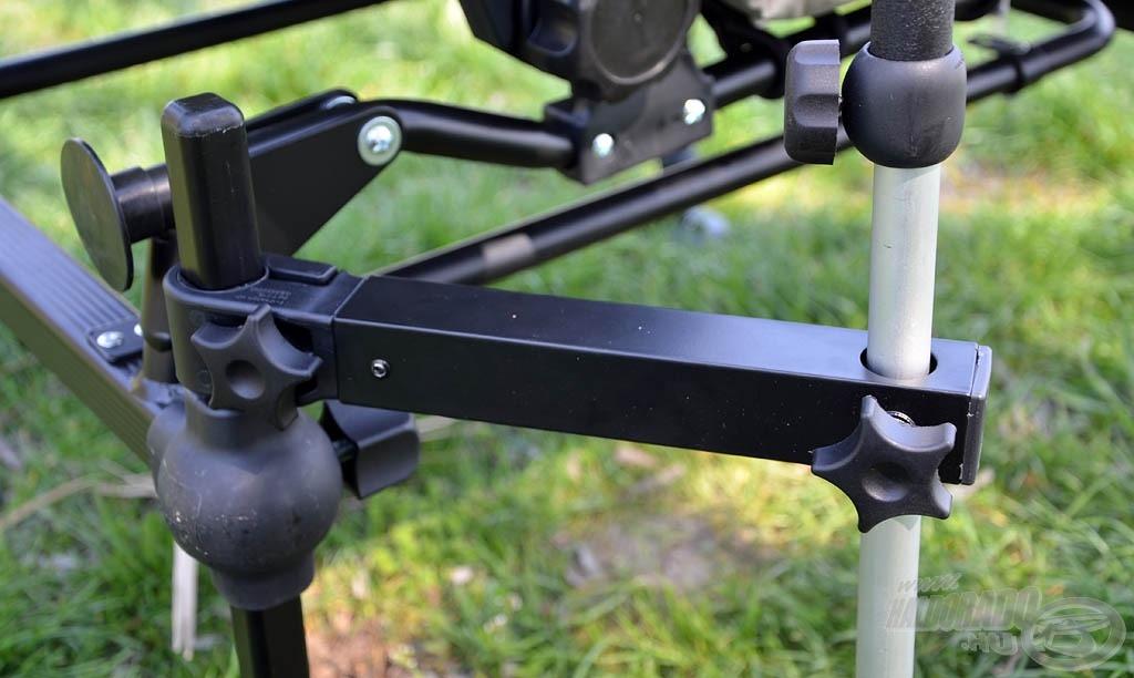 Az ernyőtartó adapter nem hiányozhat a tartozékok sorából