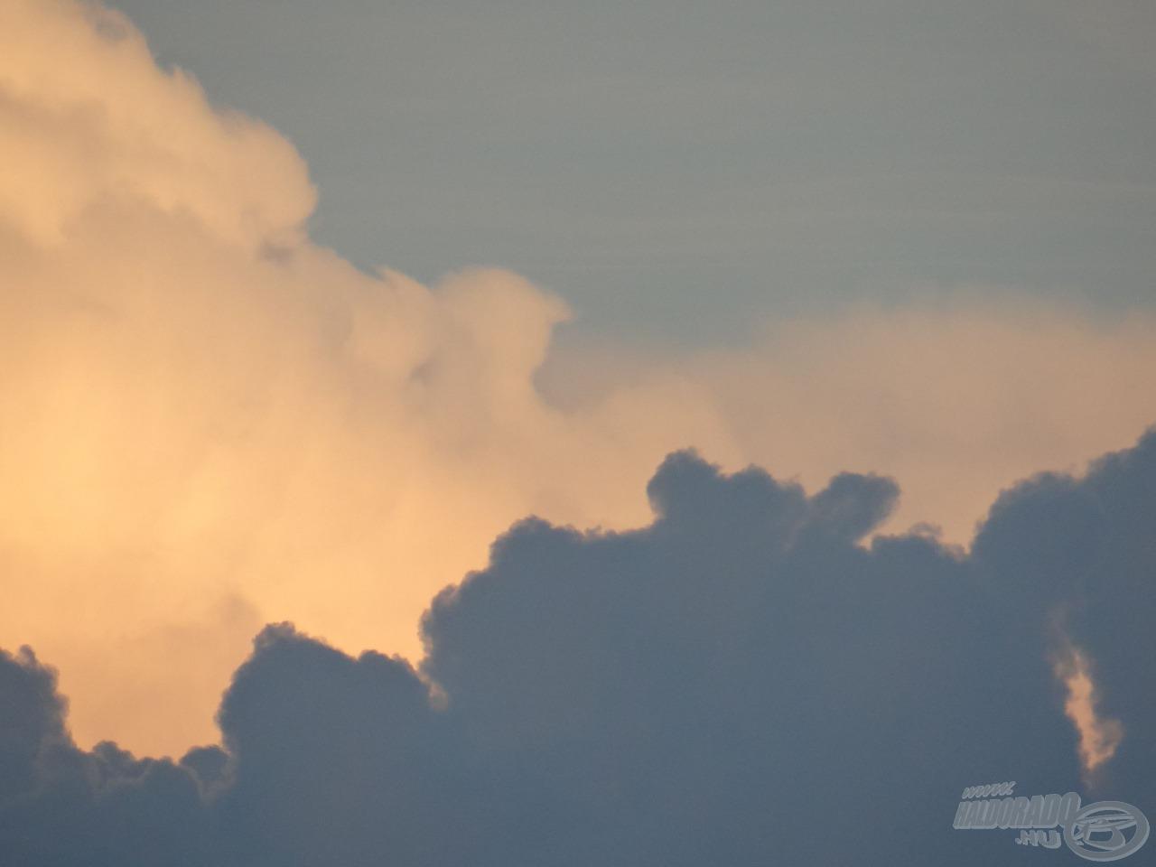 Viharfelhők a Mátra felett