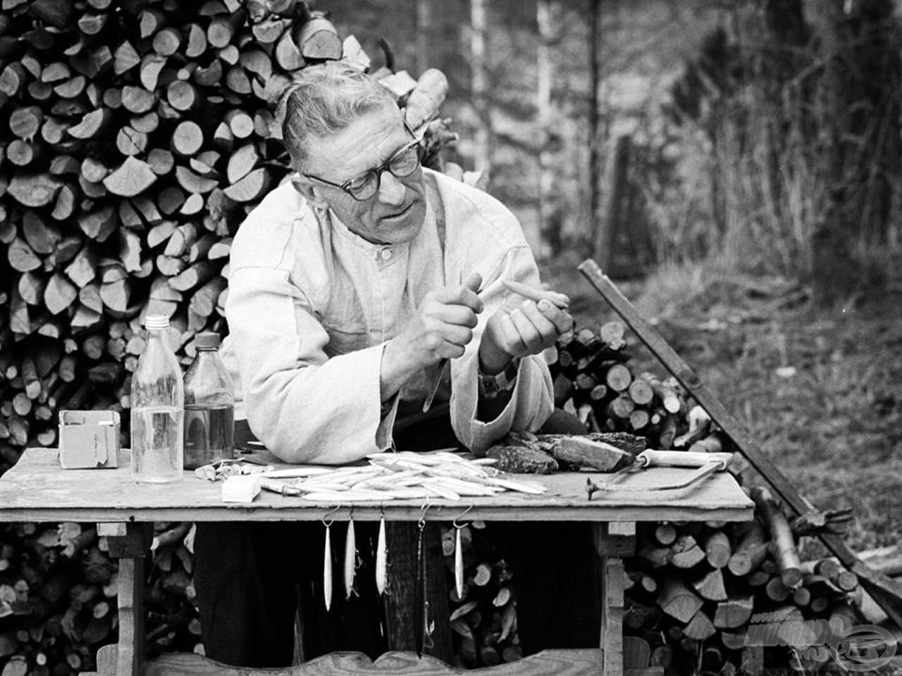 Lauri Rapala 1936-ban alkotta meg első műcsaliját