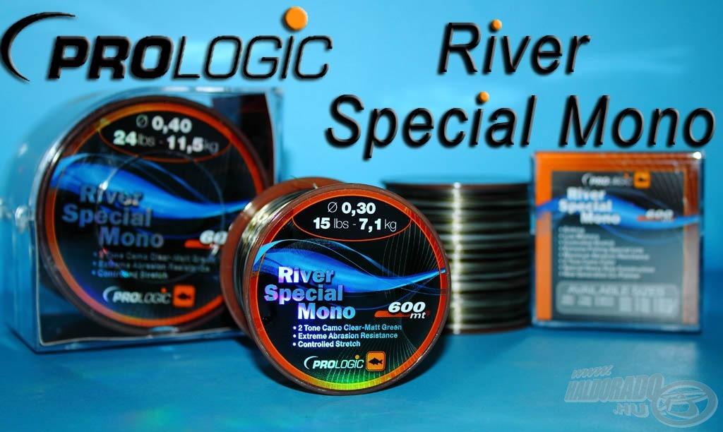 Folyóvízi horgászatokra kifejlesztett zsinór a River Special Mono
