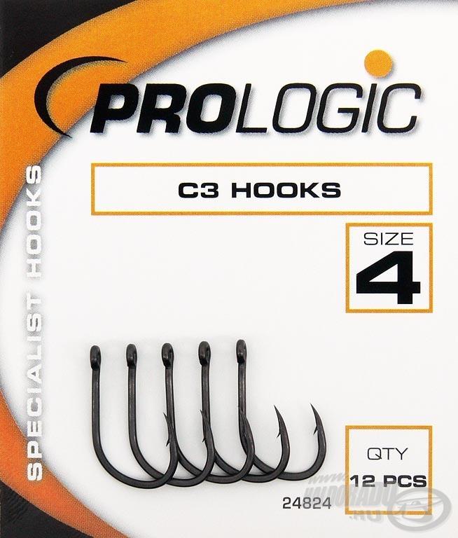 A legerősebb horog a Prologic C szériából a C3!