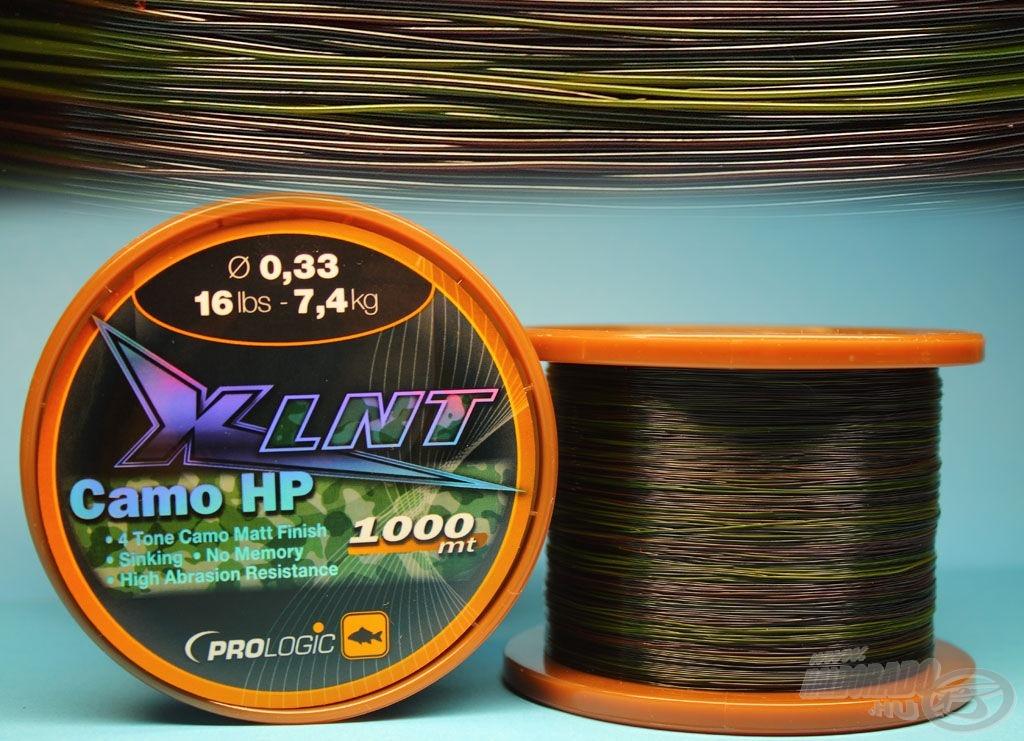Terepmintás színű süllyedő zsinór az XLNT CAMO HP