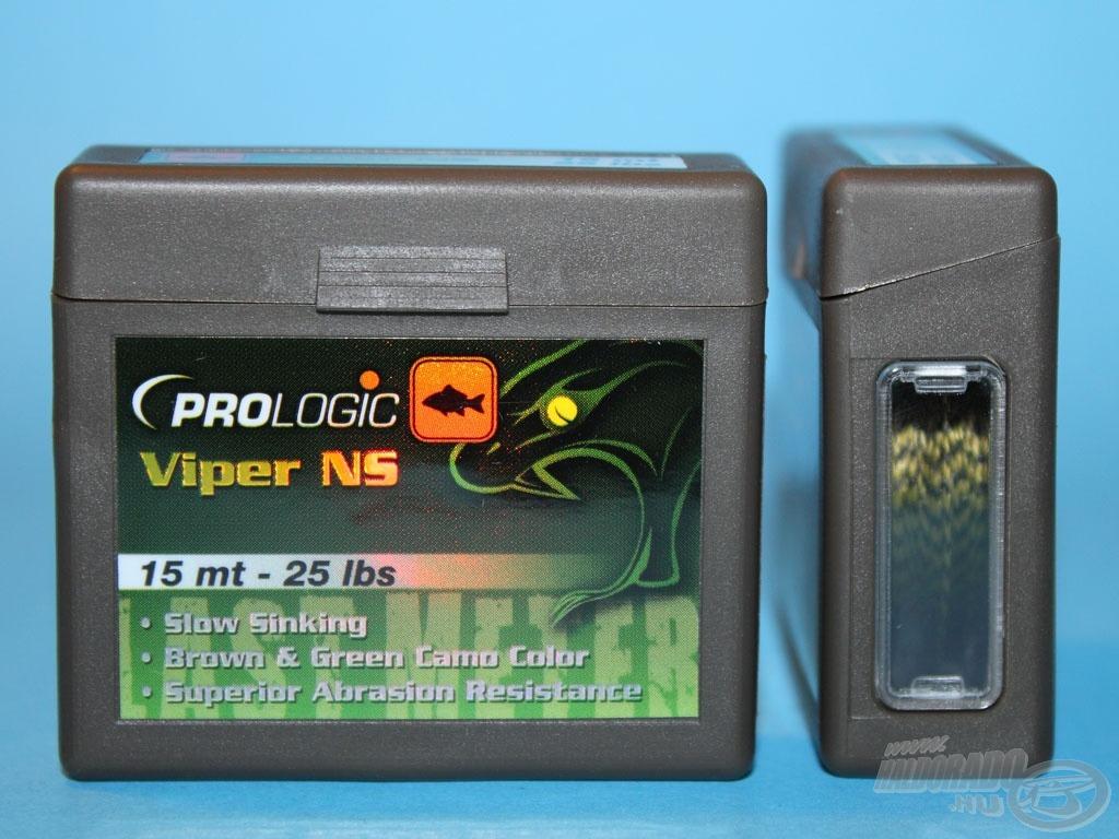 Valamennyi Prologic zsinór igényes szabvány tartódobozban kerül forgalomba, oldalán betekintő nyílással
