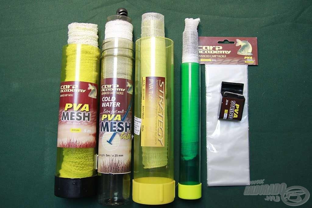 A leggyakrabban használt PVA termékek