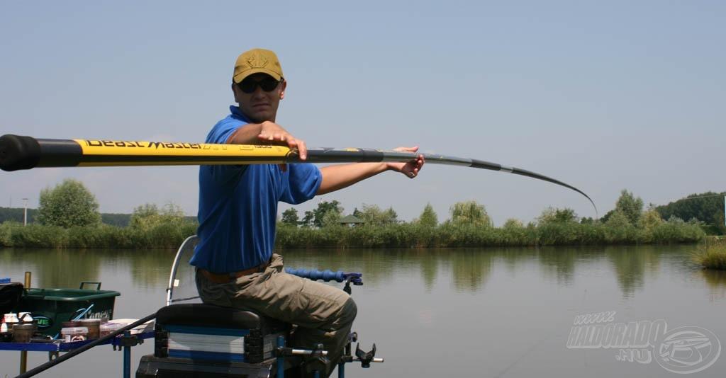 … hogy minél többen megkedveljék ezt a horgászmódszert, és minél eredményesebben alkalmazzák a bemutatott dolgokat…