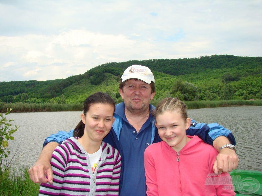 Czitorék: a gyermekek horgászatának pártfogolása sokszor igazi családi vállalkozás