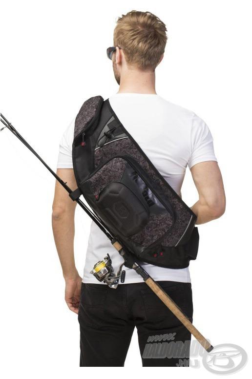 … és hátsó zsebeibe egyaránt sokrétűen pakolhatjuk felszereléseinket