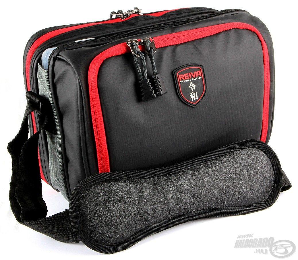 Pergető táska 2 dobozzal, közepes méret