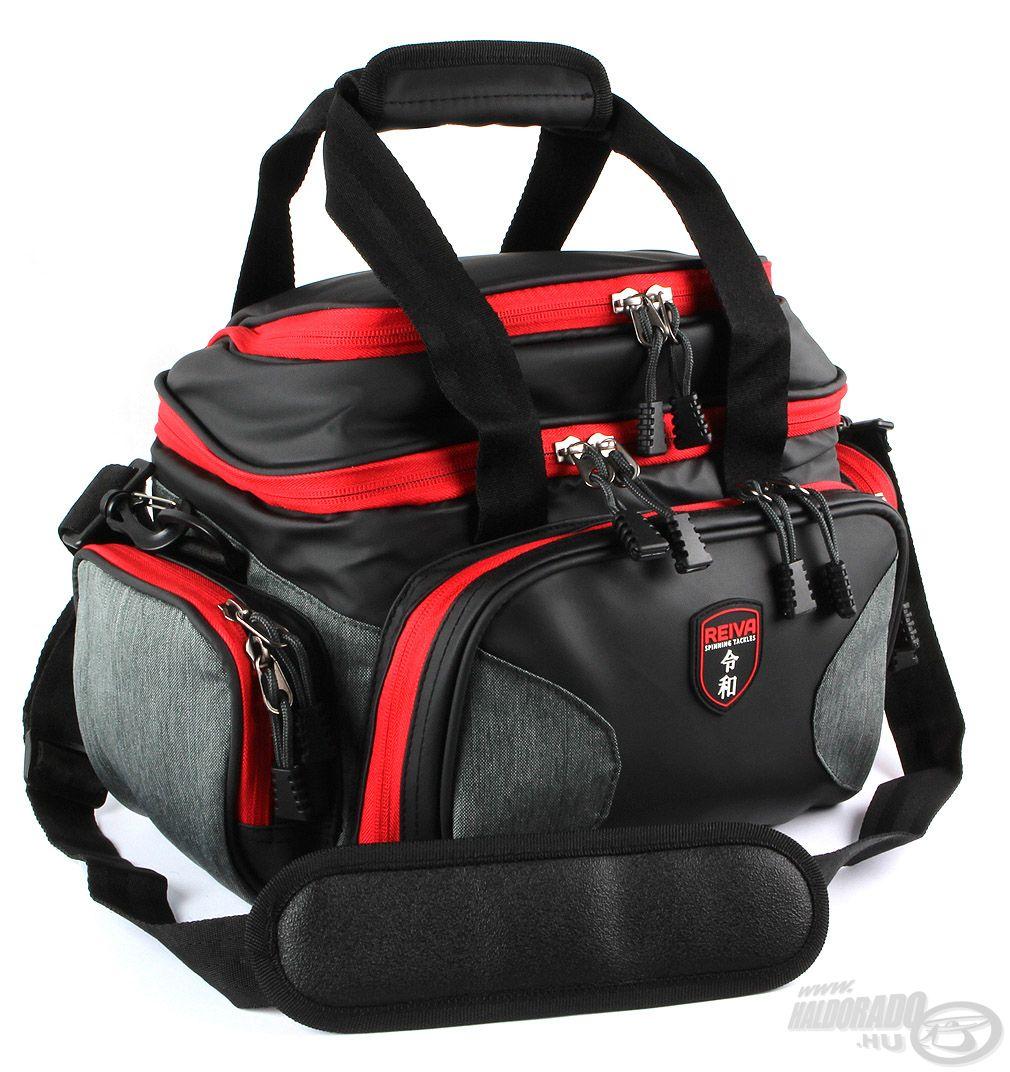 Pergető táska 4 dobozzal, közepes méret