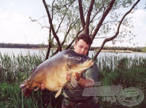 tükörponty, 22 kg
