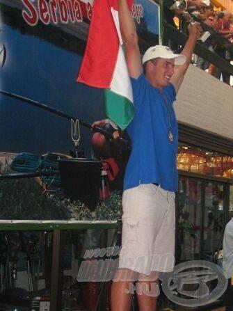 Dobogón a magyar világbajnok!