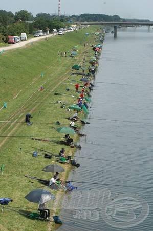 Újabb horgászversenyekre várva búcsúzik a Duna-Tisza-Duna csatorna