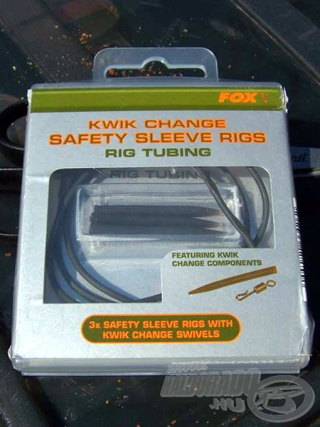 FOX Kwik Change Safety Sleeve Rigs RigTubing
