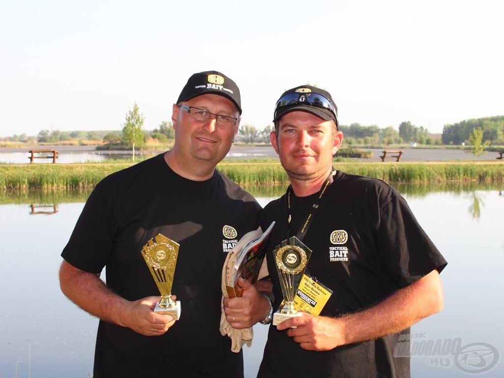 Legígéretesebb csapat díj: SBS Baits ABV Team Sk.