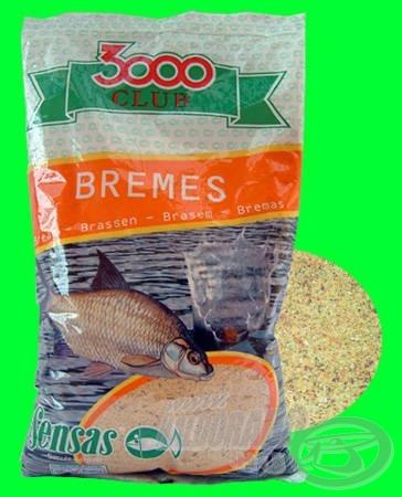 SENSAS 3000 CLUB BREMES nagyon aromás keszegező keverék, amely további hígítást is elbír