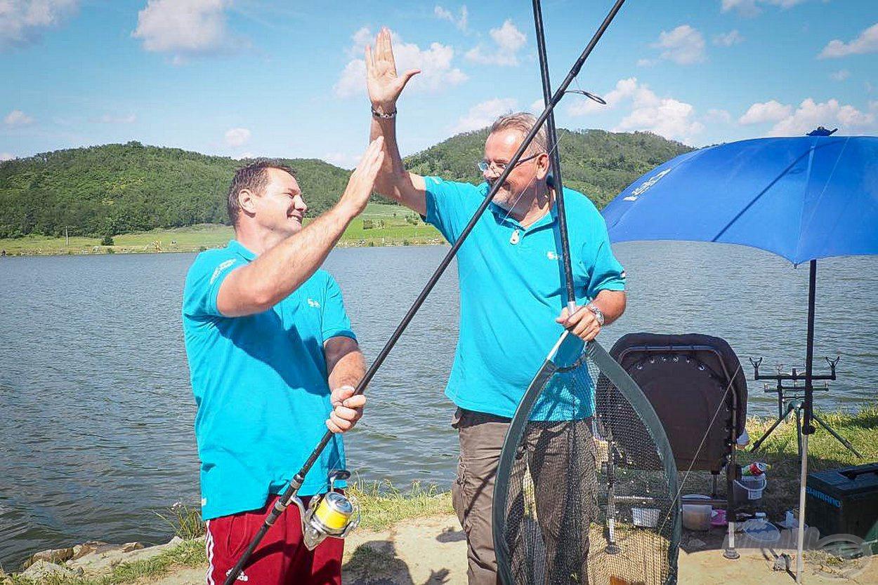 A Fishing & Hunting csapata is összehangoltan horgászott és nagyszerű halakat fogtak