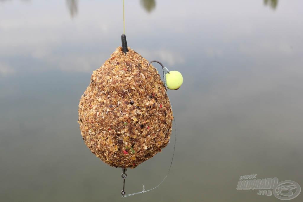 Így felkínálva kikerülhetetlen a halak számára