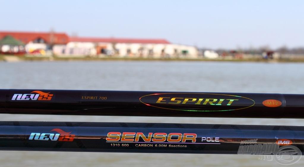 A kiválasztott 2 spiccbot a Nevis Sensor 6 m, valamint a Nevis Espirit 7 m hosszban