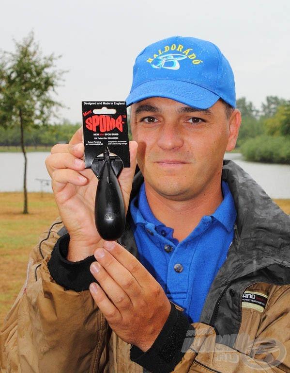A feederes horgászata átméretezett, bojlizásban már évek óta bevált mini SPOMB
