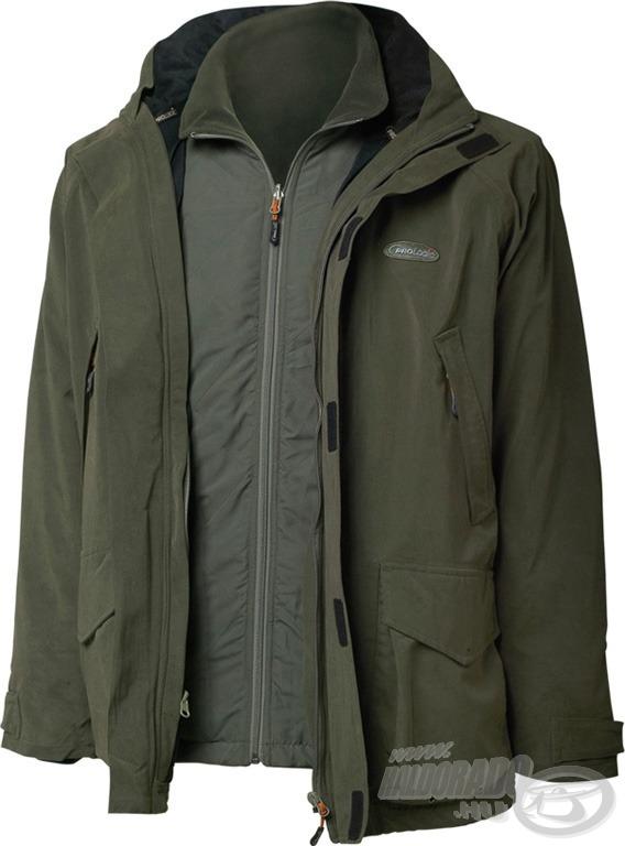 A ProLogic Survivor 6 az 1-ben kabát 2 színben kerül forgalomba, elegáns zöld színben…