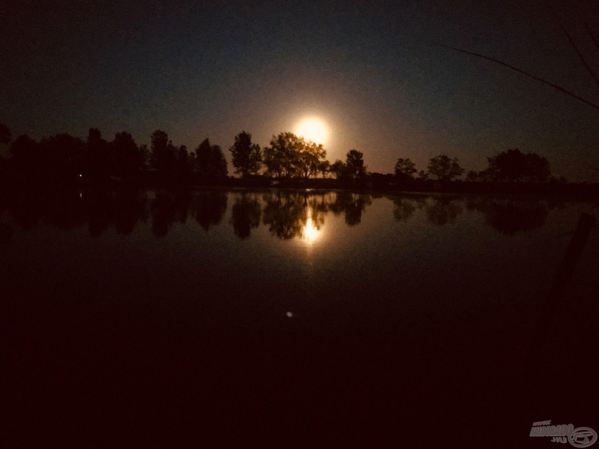 Gyönyörűek voltak a teliholdas éjszakák