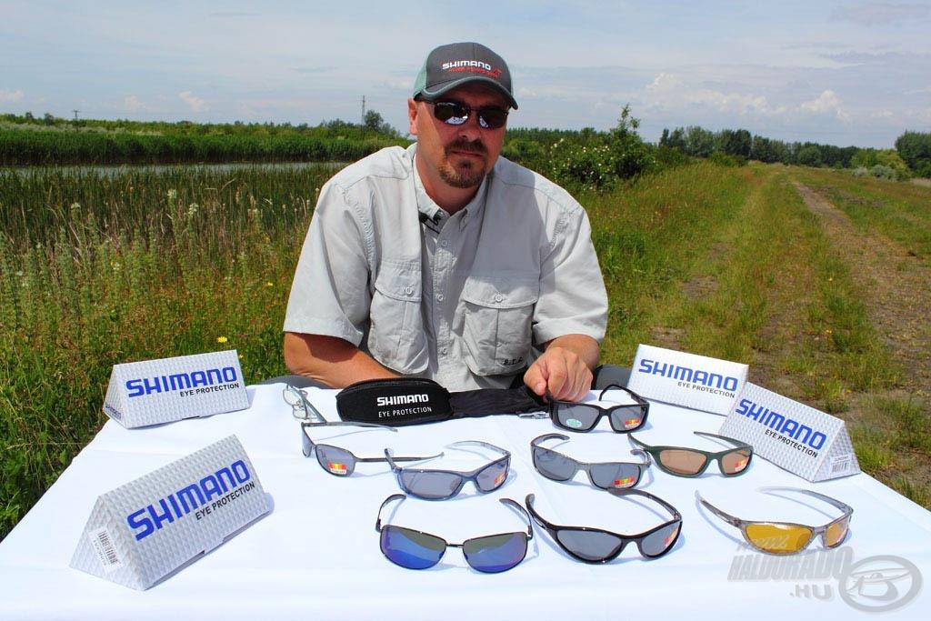 Szemünk fénye - Shimano napszemüvegek termékbemutató