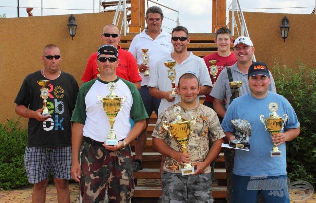 Szép idő, sok hal, izgalmas verseny - képes beszámoló a III. IHP Egyéni Horgászkupáról
